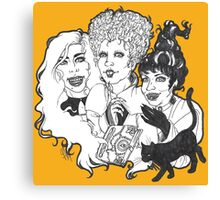 Hocus Pocus Witches-LIMITED TIME ONLY Canvas Print