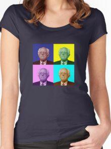 Bernie Sanders Popart Women's Fitted Scoop T-Shirt