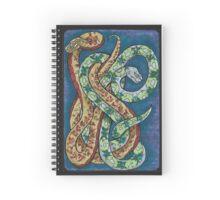 Snakey Eight Spiral Notebook
