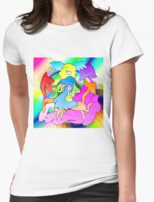 Woop Woop Womens Fitted T-Shirt