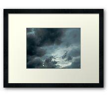 sky storm Framed Print