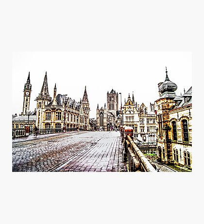 Old Town Gand Photographic Print