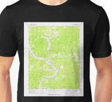 USGS TOPO Map Arkansas AR Boswell 258024 1964 24000 Unisex T-Shirt