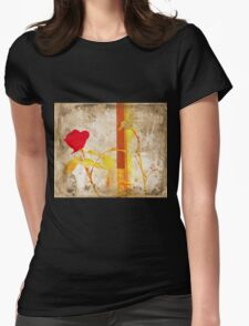 My Love Is Like Womens Fitted T-Shirt
