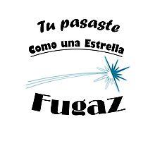 Estrella Fugaz Photographic Print