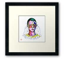 it's not me but it's not you either  Framed Print