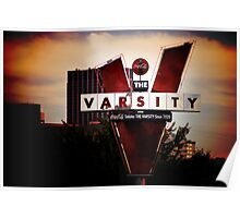 What'll Ya Have? - Iconic Atlanta Varsity Poster