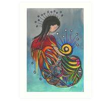 Nesting Place - Crown of Lights Art Print