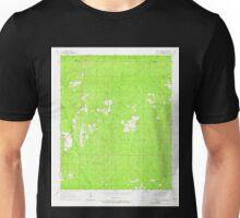 USGS TOPO Map Arkansas AR Cane Creek 258127 1964 24000 Unisex T-Shirt