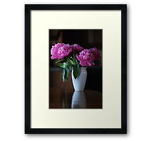 Classic Pose Framed Print