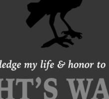 The Crow Circle Sticker