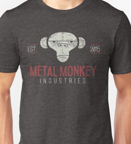 Metal Monkey Industries Logo  Unisex T-Shirt
