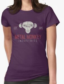 Metal Monkey Industries Logo  Womens Fitted T-Shirt