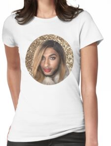 Joanne The Scammer - Glitter Womens Fitted T-Shirt