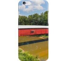 West Union Covered Bridge iPhone Case/Skin