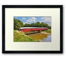 West Union Covered Bridge Framed Print
