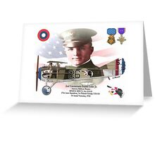 2nd Lieutenant Frank Luke Jr. Greeting Card