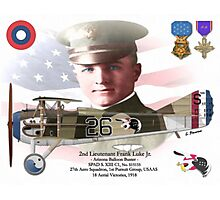 2nd Lieutenant Frank Luke Jr. Photographic Print