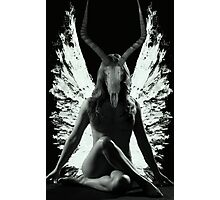 The Horned Queen Photographic Print
