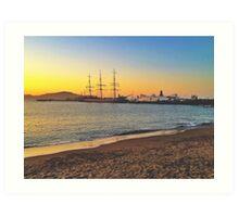 Sunset San Francisco  Art Print