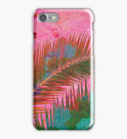 Palm leaves for Frida iPhone Case/Skin