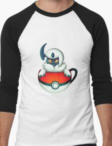 Absol PokeCup Men's Baseball ¾ T-Shirt