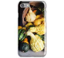Basket of Gourds iPhone Case/Skin