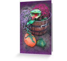 The Wee garden  Greeting Card