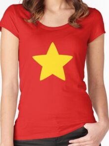 Steven Universe's Star Women's Fitted Scoop T-Shirt