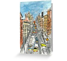 14th Street Greeting Card