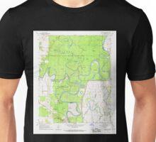 USGS TOPO Map Arkansas AR Georgetown 258560 1968 24000 Unisex T-Shirt