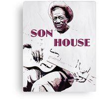 Son House - Blues Legend Canvas Print