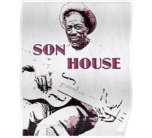 Son House - Blues Legend Poster