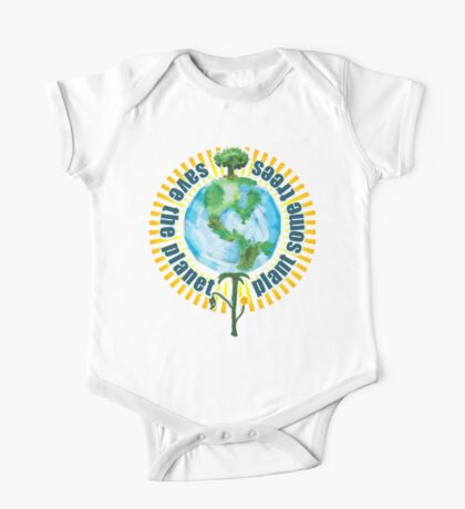 Save The Planet, Plant Some Trees One Piece - Short Sleeve