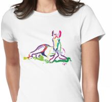 Cute t-shirt foal sweetie Womens Fitted T-Shirt