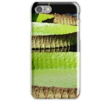 Giant Lily Pads iPhone Case/Skin