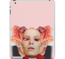Red Face Time. Collage ® iPad Case/Skin