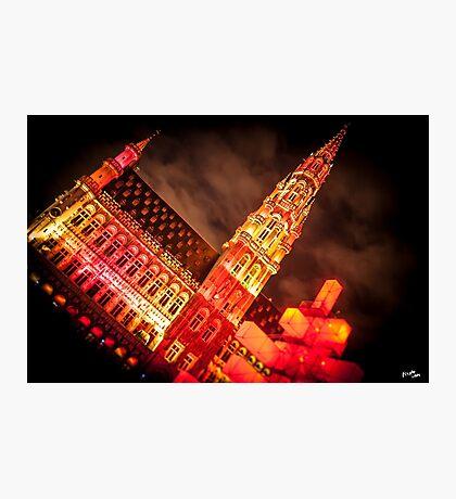Stadhuis van Brussel Photographic Print