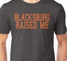 Blacksburg Raised Me By AiReal Apparel Unisex T-Shirt