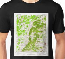 USGS TOPO Map Arkansas AR Gainesville 258532 1958 62500 Unisex T-Shirt