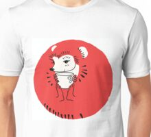 Tea Time for Hedgehog Unisex T-Shirt