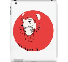 Tea Time for Hedgehog iPad Case/Skin
