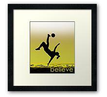 Soccer Girl Framed Print