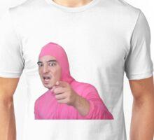 Pink guy - STFU Unisex T-Shirt