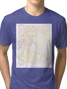 USGS TOPO Map Arkansas AR Fouke 258503 1952 24000 Tri-blend T-Shirt