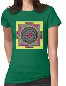 ARCHON ROSE 53 Womens Fitted T-Shirt