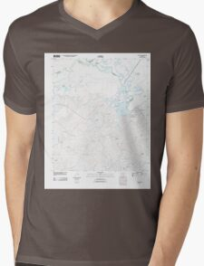 USGS TOPO Map Arkansas AR Calion 20110711 TM Mens V-Neck T-Shirt