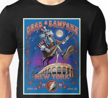 DEAD AND COMPANY CITY FIELD - NEW YORK 2016 Unisex T-Shirt