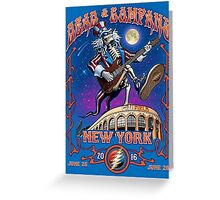 DEAD AND COMPANY CITY FIELD - NEW YORK 2016 Greeting Card