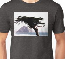 MONTEREY PINE WITH MORRO ROCK Unisex T-Shirt